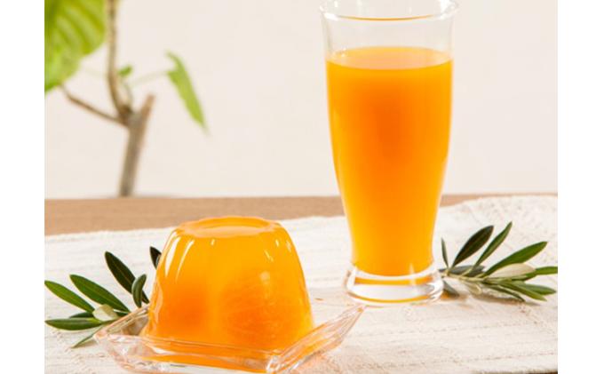 田村みかんゼリー&みかん果汁100%ジュースセット