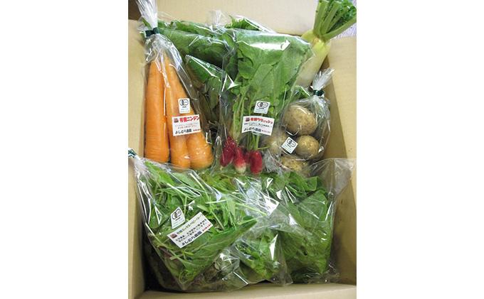 よしむら農園 オーガニックおまかせ野菜セット(1)