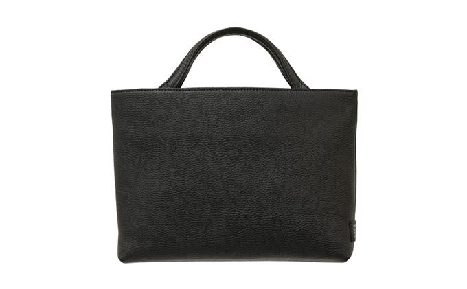 【革製品 ハンドバッグ トートバッグ】R-45 Hand tote bag SS ブラック