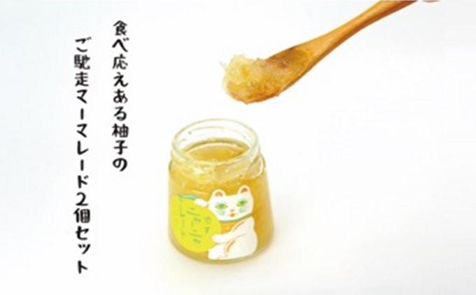 ニャンとも可愛い柚子マーマレード【柚子ニャーニャレード2個セット】