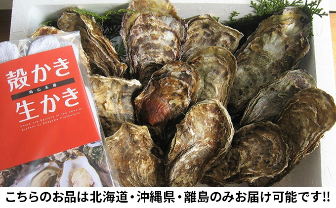 ●先行予約●山銀商店 殻付き大粒牡蠣 30個