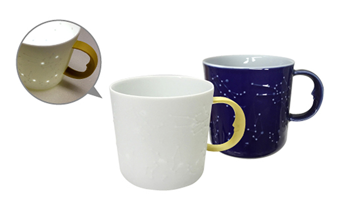 セラミック星座マグカップ