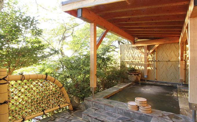 「日本旅館福寿山魚捨」ペア温泉付日帰り部屋食プラン