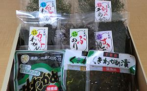千葉勝商店 岩手の海藻セット7種