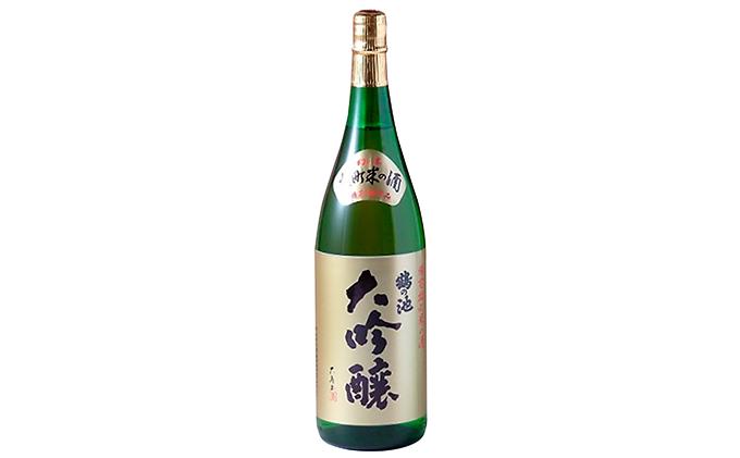 清酒 鶴の池 雄町 大吟醸 1.8ℓ