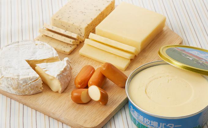 倉島乳業チーズ・バターセット