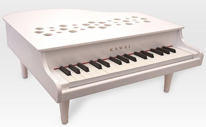 KAWAIミニグランドピアノP‐32ホワイト (1162)