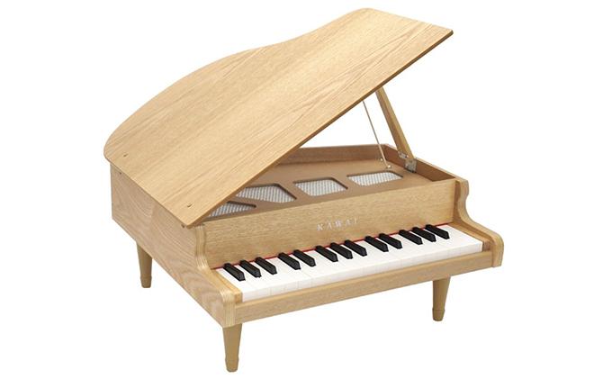静岡県浜松市のふるさと納税 KAWAI おもちゃのグランドピアノ木目 (1144)