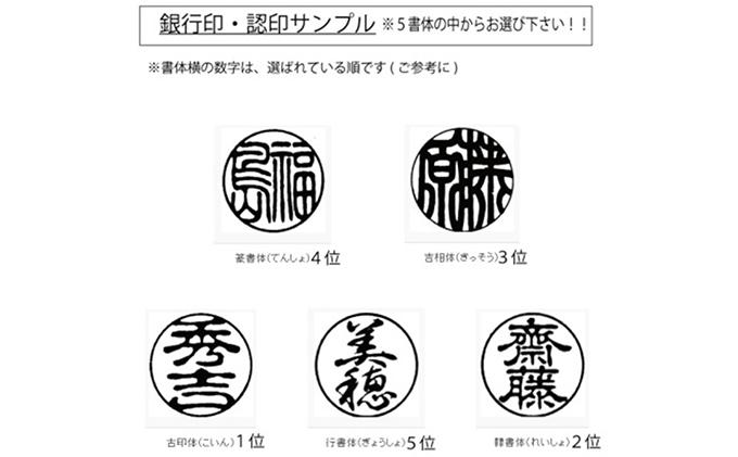 静岡県浜松市のふるさと納税 オランダ水牛12mm(5書体)牛革ケース(赤)