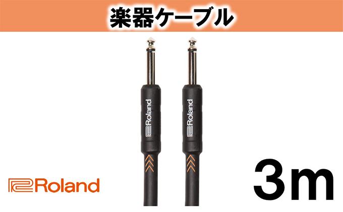 【Roland純正】楽器ケーブル 3m/RIC-B10【配送不可:離島】