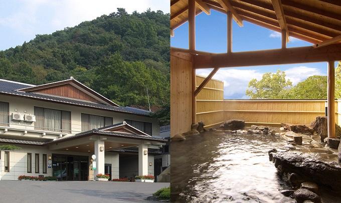 須坂温泉 古城荘 1泊2食ペア宿泊券