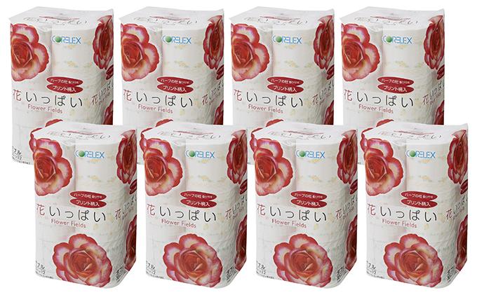 花いっぱいトイレットペーパー