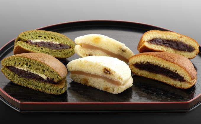 梅月菓子舗【3種のどら焼セット】