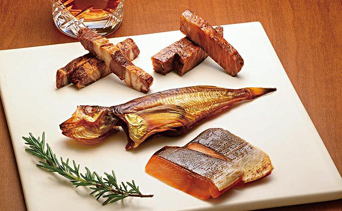 ルピシアグルマンの燻製4種セット「フュメ ア ポワン」
