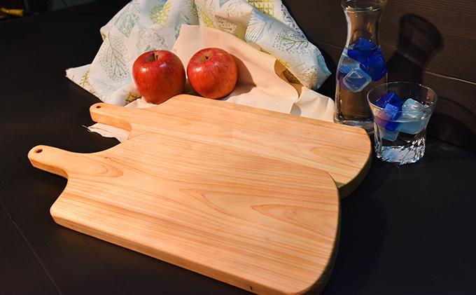 ひの木 カッティングボード(2枚セット)