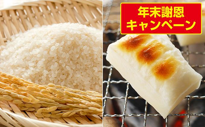 ササニシキ 10kg + 餅(白,草) 1kg