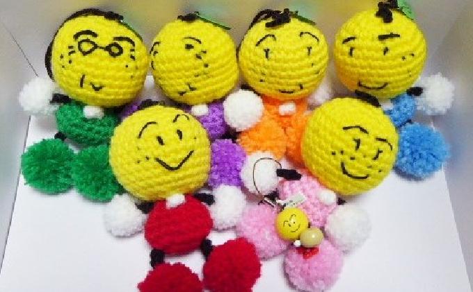 なし坊ファミリーの編みぐるみセット