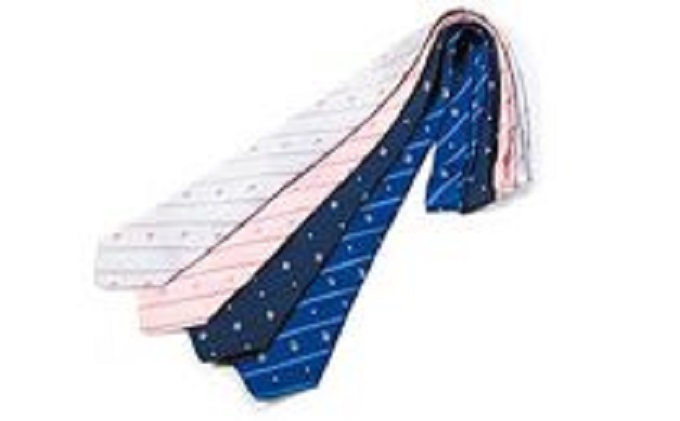 なまはげ柄ネクタイ(ブルー)1本