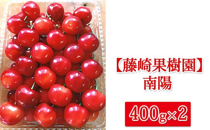 藤崎果樹園のさくらんぼ【南陽】400g×2