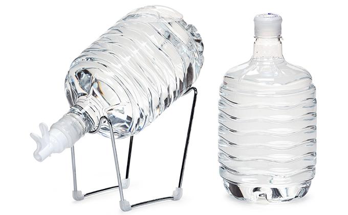 群馬の名水 箱島湧水エア E (8L 計48本、給水器:1セット)