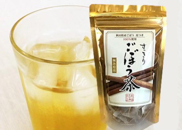 【秋田県三種町産】 ごぼう茶 ティーパックタイプ(1.5g×30包)×3袋