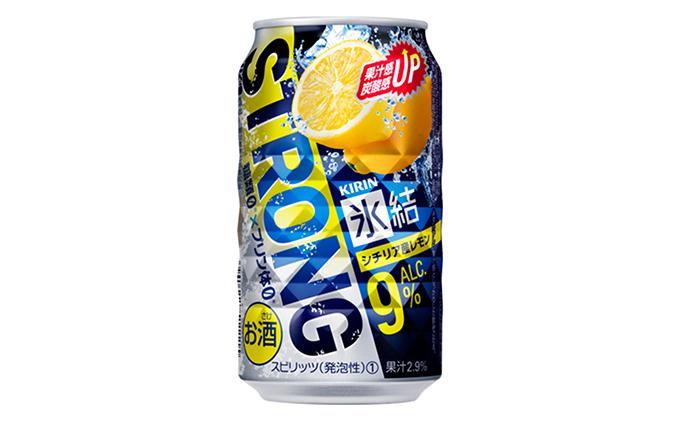 キリン 氷結ストロング シチリア産レモン 350ml 1ケース(24本)