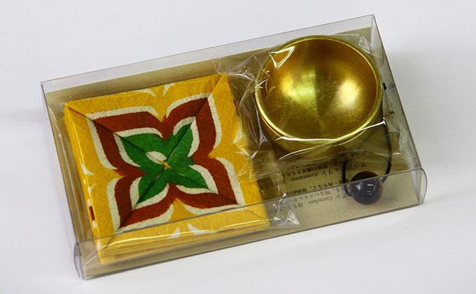 小物 おともりん 光彩(タイガーアイ)1個 高岡銅器 おりん 仏具 お彼岸 お盆用品