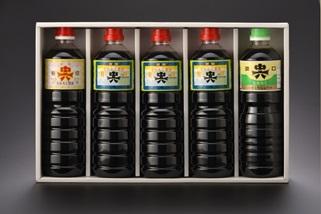 新湊名産 中六醤油セット