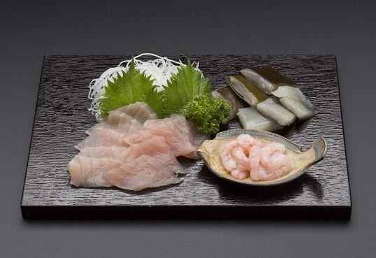 """富山の食文化""""昆布〆のセット"""""""