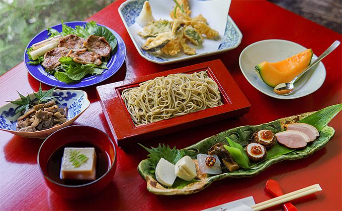 蕎仙坊「蕎麦懐石コース料理」御食事券(4人)