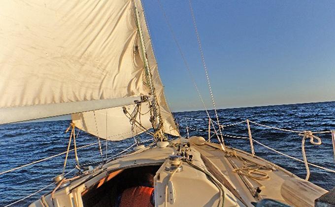 佐渡でヨットセーリング体験