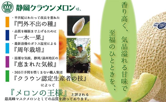 静岡県浜松市のふるさと納税 クラウンメロン 山 1玉入