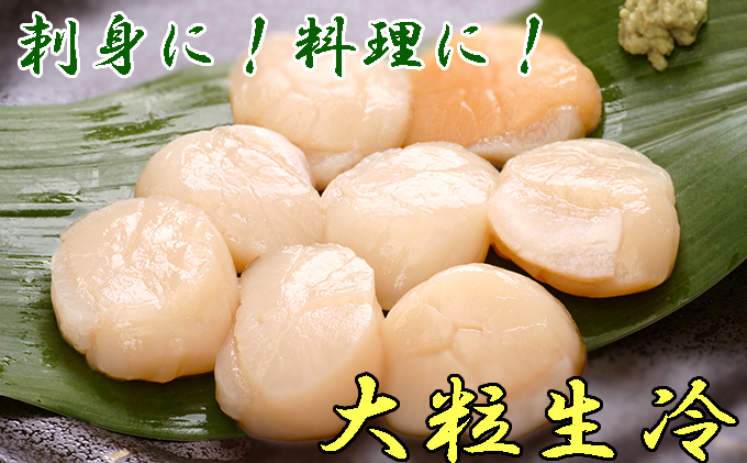 【枝幸ほたて】山武水産 大粒冷凍ほたて貝柱2kg