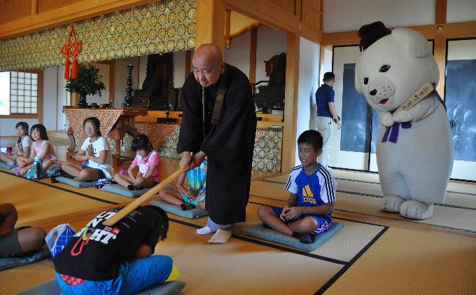 達磨寺 座禅体験