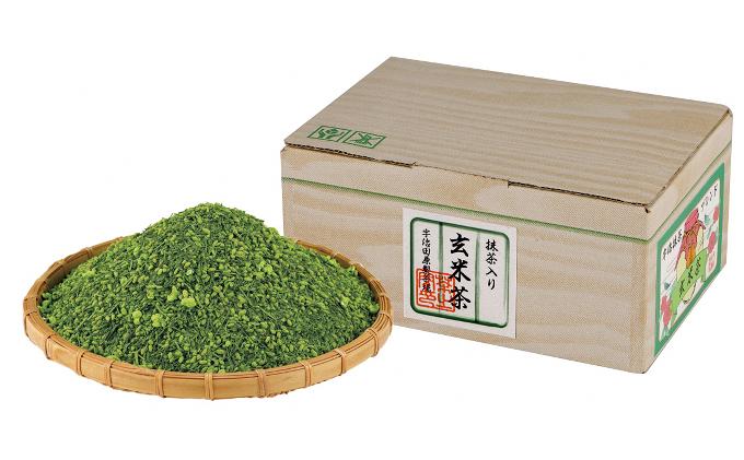 宇治抹茶入玄米茶1kg箱