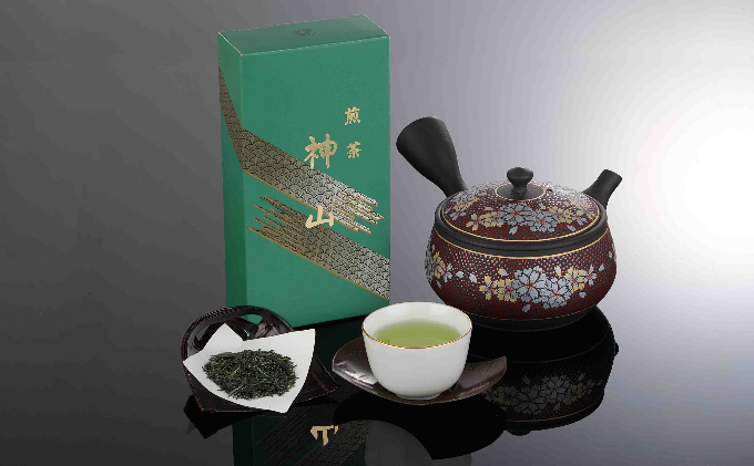 特選宇治煎茶と名工桜急須