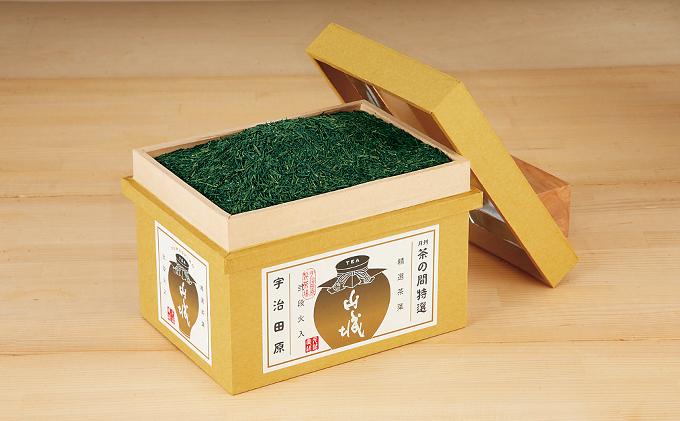 熱湯かぶせ茶1kg木箱詰