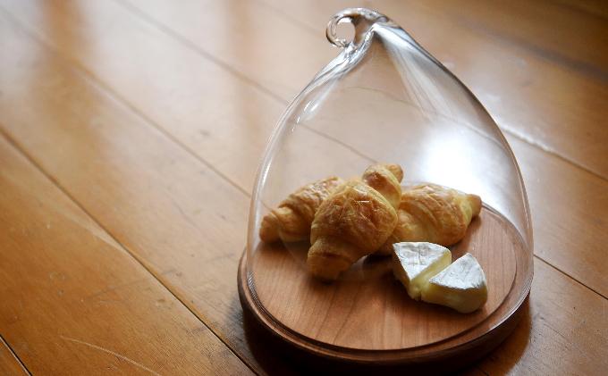 Glass dome -L-