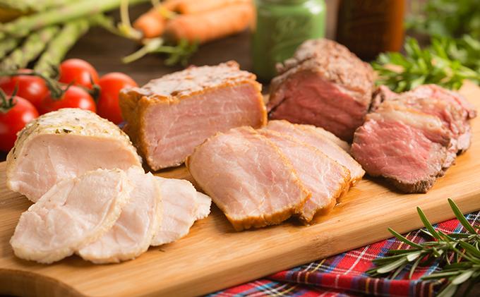 お肉のロースト食べ比べ