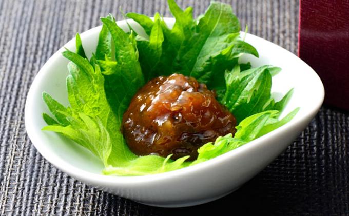江戸時代から続く伝統の味 「甘露 梅肉」 6ケ