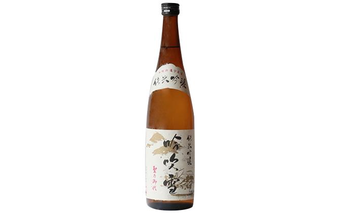 純米吟醸酒 吟吹雪 720ml