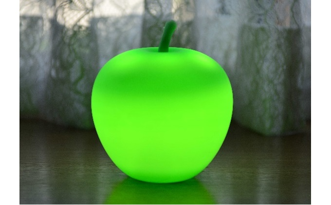 APPLE LIGHT(GREEN)【防災ライト】
