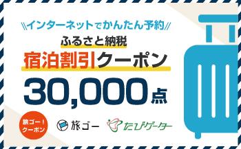 若狭町 旅ゴー!クーポン(30,000点)