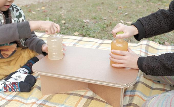 超軽量段ボール製テーブル(無地) #table