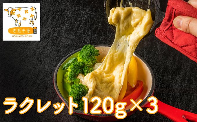 北海道美深町 ラクレット120g×3【北ぎゅう舎】