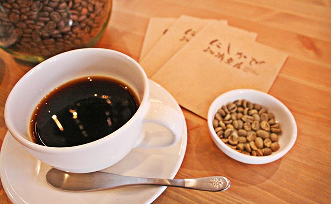 ドリップバッグ1種とコーヒー豆2種(深煎り)