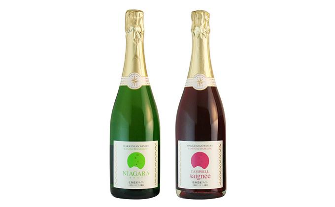 kanonzスパークリングワイン白&ロゼセット(各720ml)