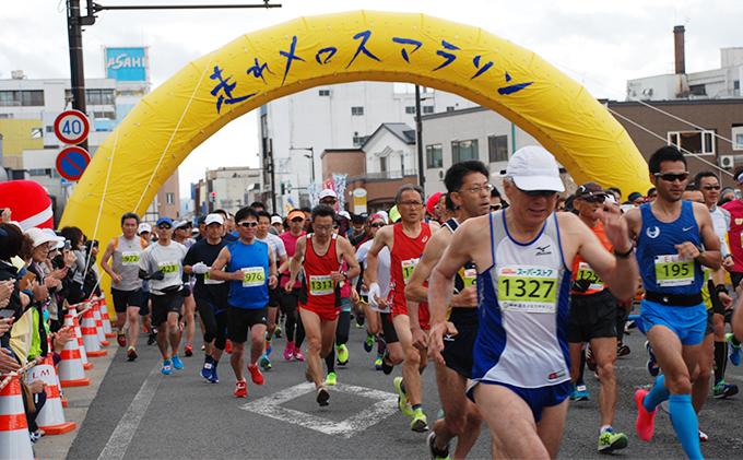 H31年度 第8回「走れメロスマラソン出走参加権」※クレジットのみ