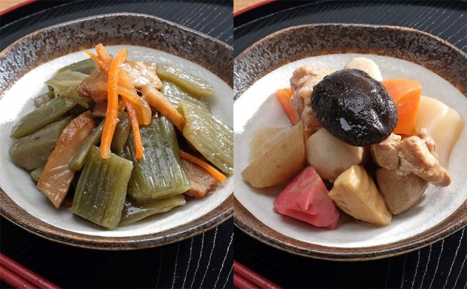 惣菜セット 北海道フキと天ぷら煮・うま煮 各1kg 計2kg