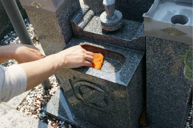 お墓の清掃代行サービス(1回分)